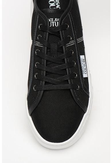 Versace Jeans Couture Cipő bőrbetétekkel férfi