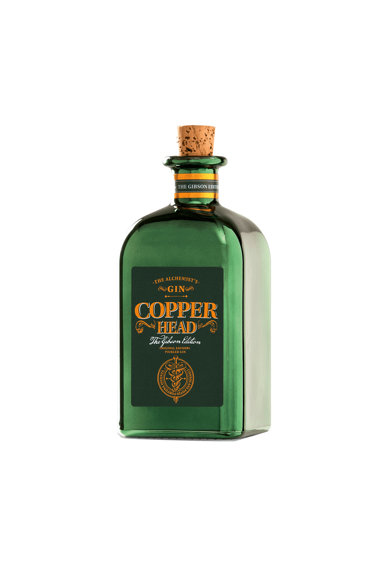 COPPER HEAD Gin Cooper Head The Gibson Edition, 40%, 0.5l Femei