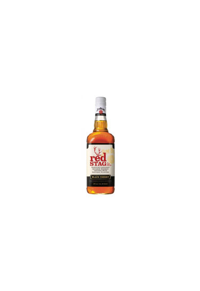 Jim Beam WHISKY  RED STAG BLACK CHERRY, 40%, 1L Femei