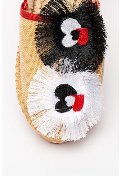 Love Moschino Cipő pom-pomokkal női