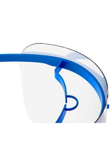 RoShield Viziera protectie faciala  Standard, foarte usoara, dezinfectabila, ecran inlocuibil Femei