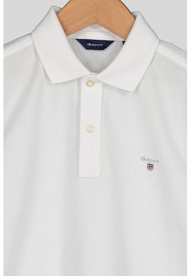 Gant Galléros póló kis hímzett logóval Fiú