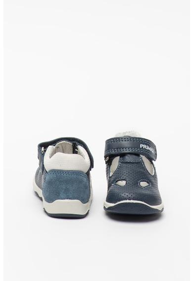 Primigi Tépőzáras bőrcipő kivágásokkal Fiú