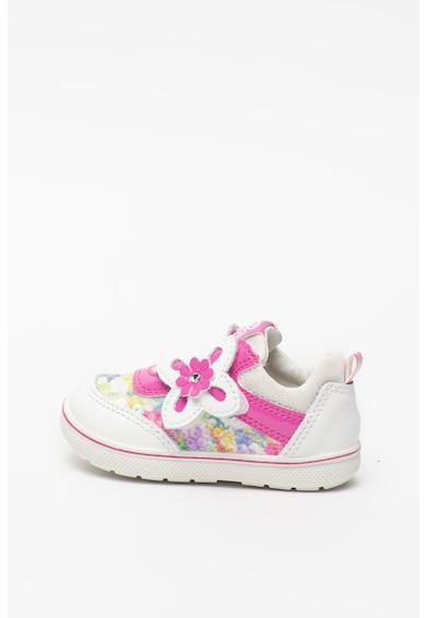 Primigi Virágmintás sneaker bőrbetétekkel Lány