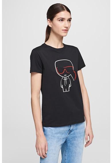 Karl Lagerfeld Tricou cu imprimeu logo Femei
