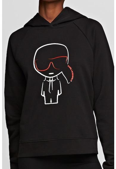 Karl Lagerfeld Hanorac cu imprimeu logo Femei