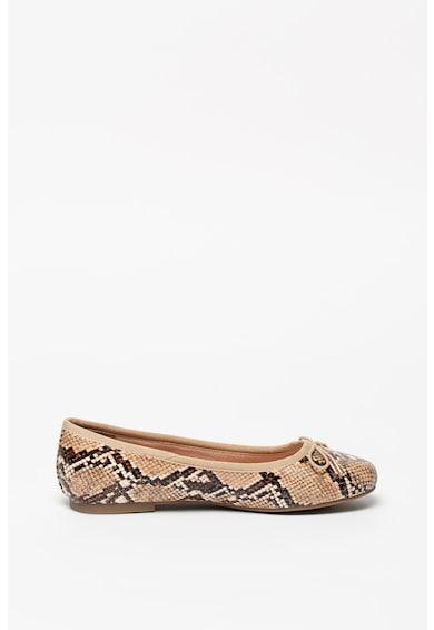 Tamaris Hüllőbőr mintás cipő női