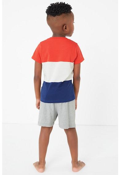 Marks & Spencer Pijama cu pantaloni scurti si model cu desene animate Baieti