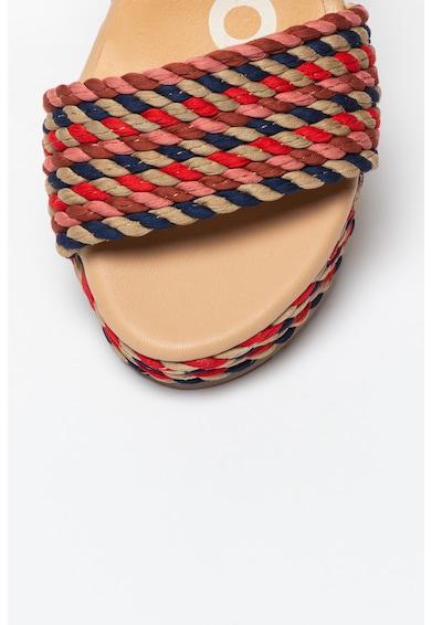 Gioseppo Sandale wedge cu insertii de piele Borba Femei
