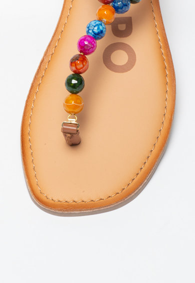 Gioseppo Sandale cu bareta separatoare si margele Creswell Femei