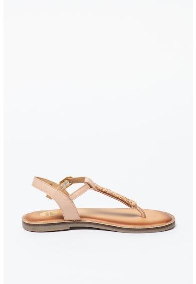 Gioseppo Sandale de piele cu bareta separatoare Clavier Fete