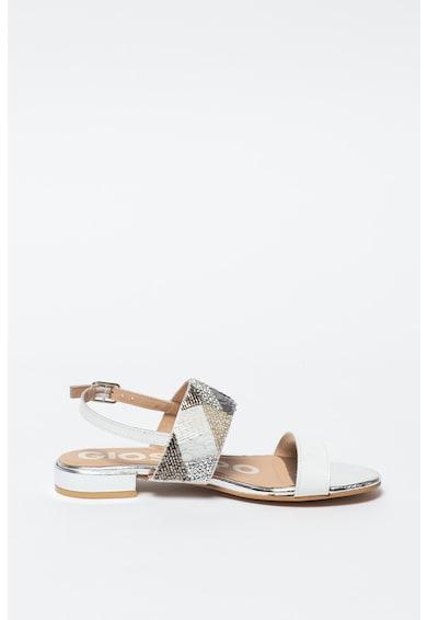 Gioseppo Sandale de piele cu aplicatii din paiete si margele Olean Femei