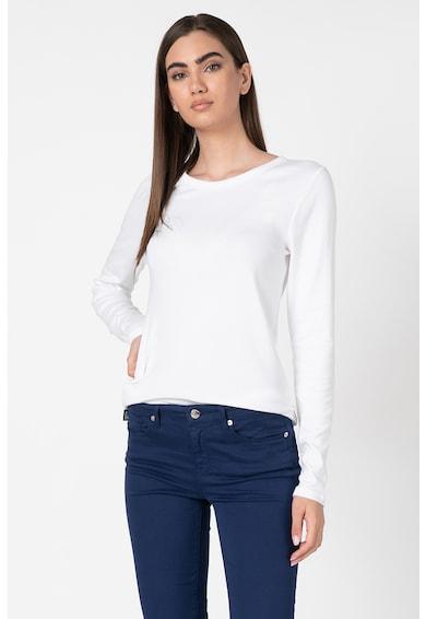 GAP Bluza din amestec de bumbac, cu maneca lunga Femei