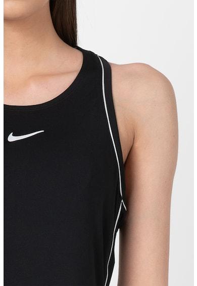Nike Rochie cu spate decupat si Dri-FIT, pentru tenis Femei