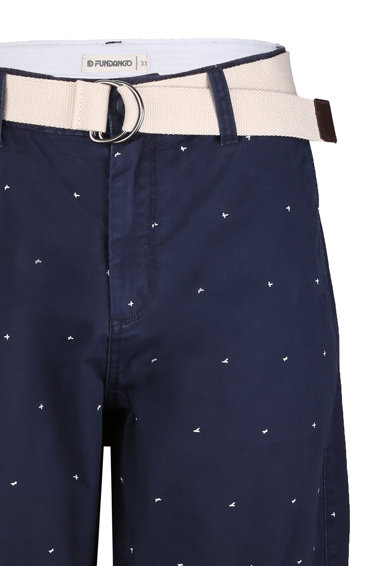 Fundango North Shore slim fit chino bermudanadrág férfi