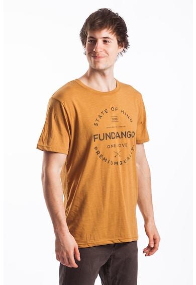 Fundango Normál fazonú póló logó mintával férfi