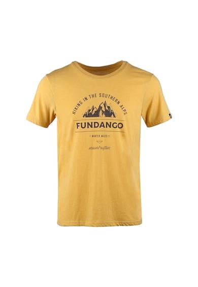 Fundango Normál fazonú feliratos és logós póló férfi