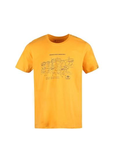 Fundango Normál fazonú mintás póló férfi