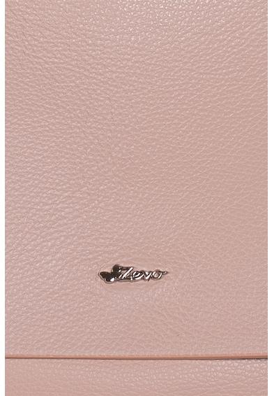 Zevo Cornelia texturált bőr válltáska fedőlappal női