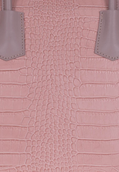 Zevo Cosmina bőr kézitáska krokodilbőr hatású mintával női