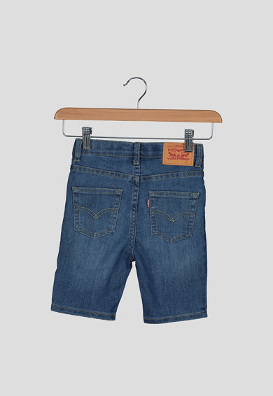 Levi's Kids Mosott hatású farmer rövidnadrág Fiú