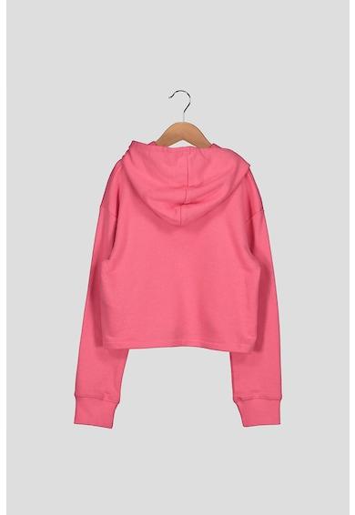 Levi's Kids Kapucnis pulóver nagyméretű logóval Lány