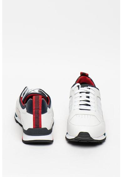 Boss Спортни обувки Parkour Runn с цветен блок Мъже
