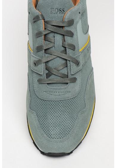 Boss Спортни обувки Parkour Runn с еко кожа Мъже