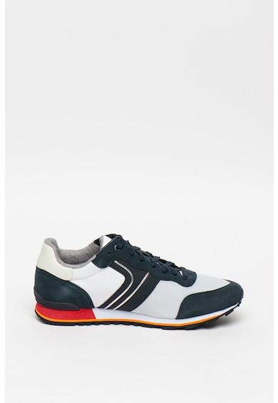 Boss Текстилни спортни обувки Parkour Runn с велур Мъже