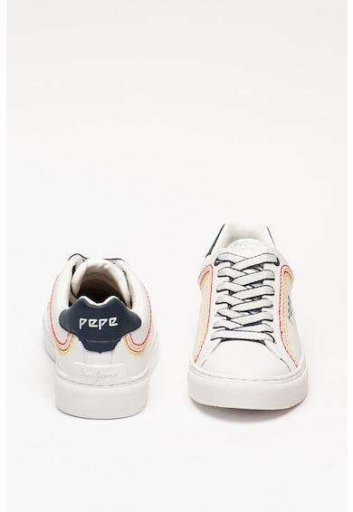 Pepe Jeans London Pantofi sport de piele Adams Rolls Femei