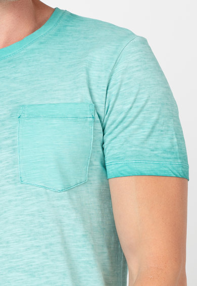 Esprit Тениска с органичен памук с джоб на гърдите Мъже