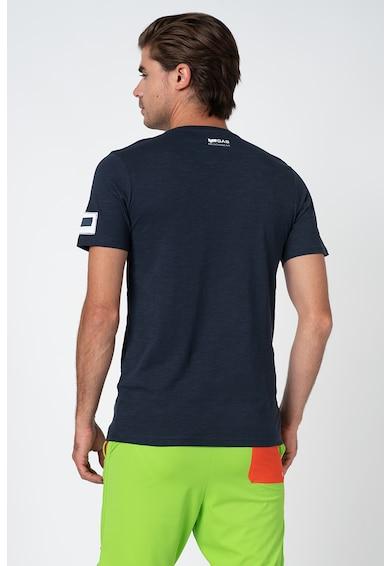 GAS Kerek nyakú póló logórátéttel férfi