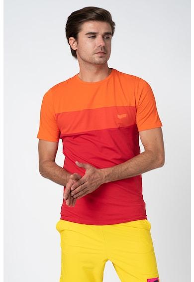 GAS Póló colorblock dizájnnal férfi