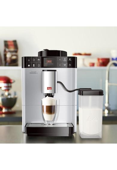 Melitta Espressor Automat ® Passione OT, Sistem de spumare a laptelui One-Touch, 5 niveluri de granulație Femei