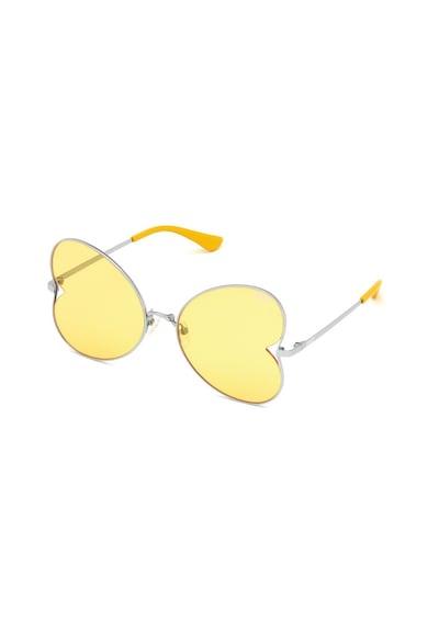 VICTORIA'S SECRET Ochelari de soare polarizati cu lentile in forma de inima Femei