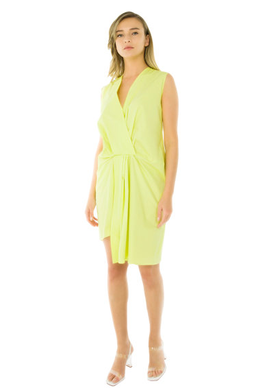 Framboise Zeni ruha aszimmetrikus alsó szegéllyel női
