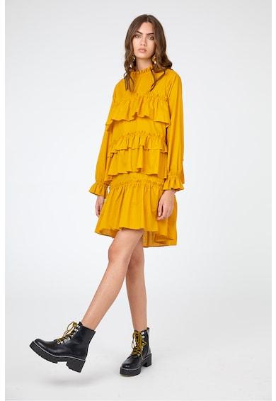 Framboise Tracy ruha fodros rátétekkel női