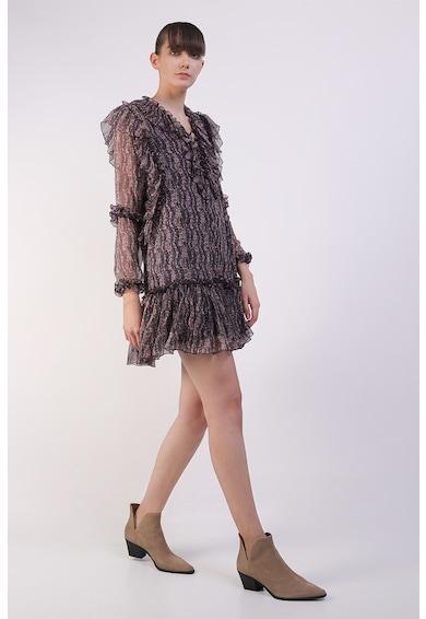 Framboise Driss selyemruha fodros részletekkel női