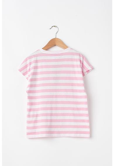 United Colors of Benetton Csíkos póló Csőrike mintával Lány