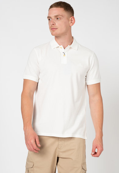Gant Tricou polo din bumbac pique Sunfaded Barbati