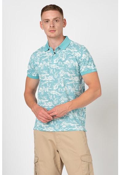 Gant Trópusi mintájú galléros póló férfi
