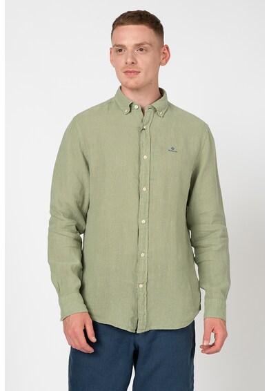 Gant Normál fazonú lenvászon ing férfi