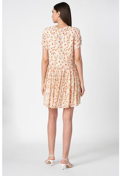 Vero Moda Rochie mini evazata cu model floral Sofie Femei