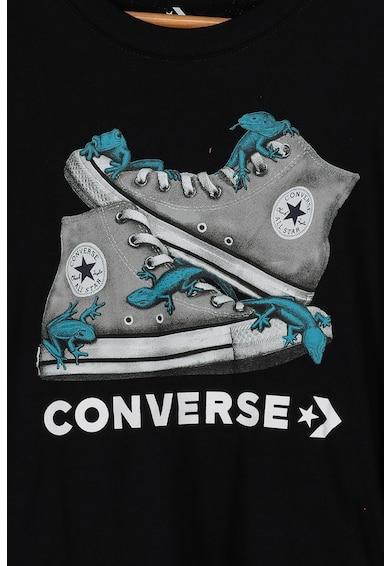 Converse Tricou cu imprimeu grafic Bio Chucks Baieti