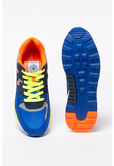Polo Ralph Lauren Pantofi sport cu insertii de piele intoarsa Trickstr Barbati