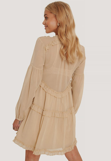 NA-KD Разкроена къса рокля Жени
