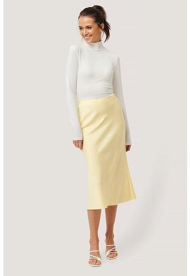 NA-KD Bluza cu striatii si decupaj pe partea din spate Femei
