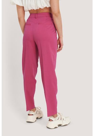 NA-KD Pantaloni conici eleganti, cu talie inalta Femei
