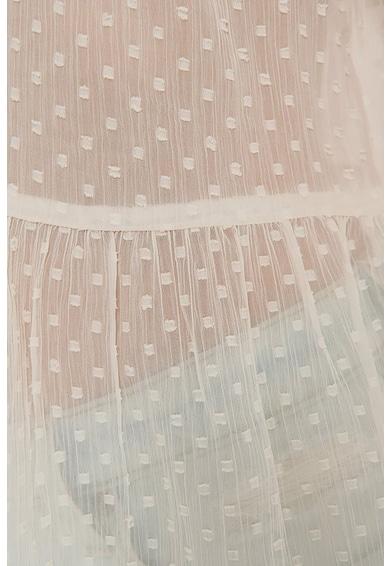 NA-KD Bluza cu decolteu in V si aspect semitransparent Femei