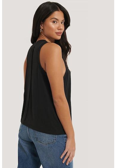 NA-KD Top din amestec de modal, cu garnituri striate Femei